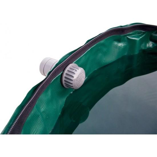 Cuerda de Rafia verde bobina